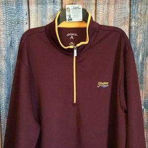 Antigua 1/2 Zip Golf Pullover Jacket Sweater
